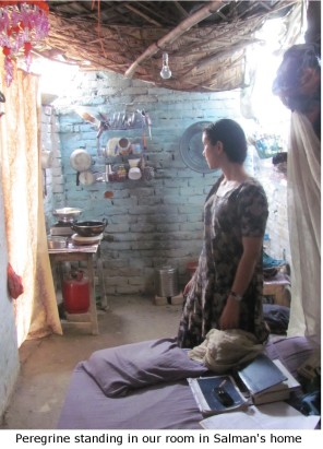 life in a slum home with dirt floor