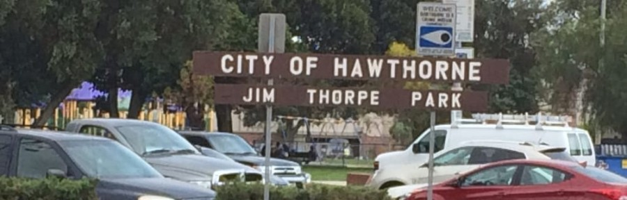 jim thorpe park, city of hawthorne