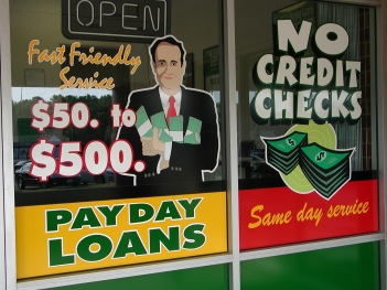 Payday Loan Place, photo courtesy of Taber Andrew Bain https://www.flickr.com/photos/andrewbain/524195139/