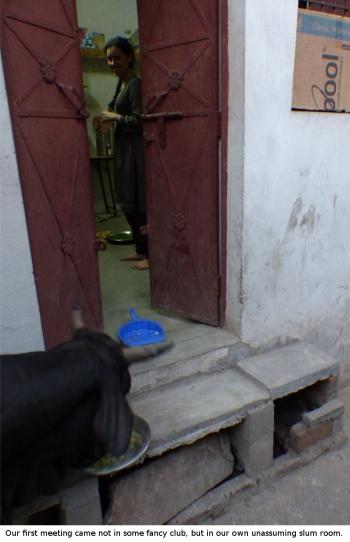 slum room asia