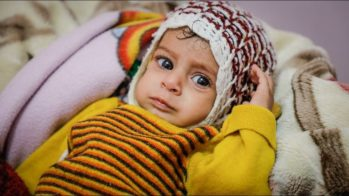 A Yemeni child  (photo courtesy Juan Cole of the Middle East Monitor)